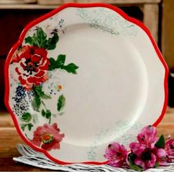 "Pioneer Woman Two  Country Garden Floral 10-1/2"" Dinner Plat"