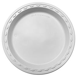 Simply Deliver 9-Inch Plastic Plate, Microwavable and Dishwa