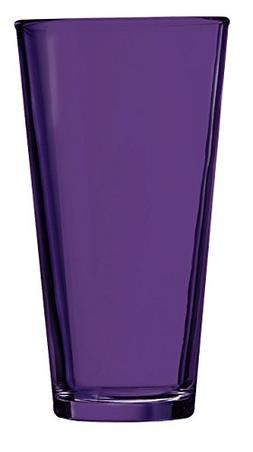 Purple Pint Glass - Additional Colors Available - 16oz Set o