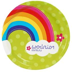 Rainbow Wishes Dinner Plates