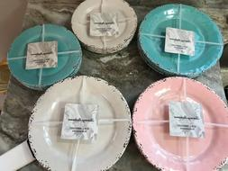 rustic crackle dinner or salad plates different