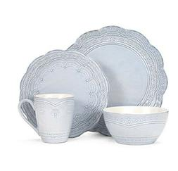 Pfaltzgraff Seraphina 16-Piece Dinnerware Set, Service for 4