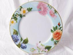 set of 4 New in box Spring Garden dinner plates from WILLIAM