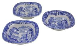 "Spode ""Blue Italian"" Set of Three Dip Dishes, 5"