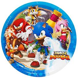 Sonic Boom Party Supplies - Dinner Plates
