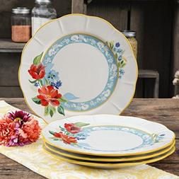 The Pioneer Woman Spring Bouquet 11-Inch Dinner Plates, Set