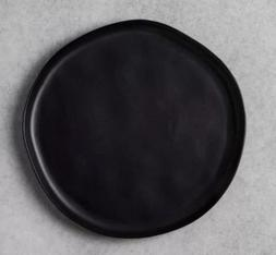 Hearth and Hand with Magnolia Stoneware Dinner Plate Black