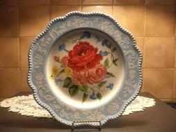 The Pioneer Woman Sweet Rose Dinner Plates-Set of 4-NEW-HTF-