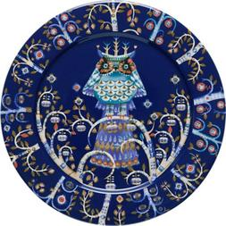 "Taika Dinner Plate 10.6"" Color: Blue"