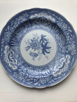 "The Spode Blue Room Collection "" FLORAL "" 10"" Dinner Plate"