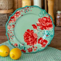The Pioneer Woman Gorgeous Garden Dinner Plates, Floral Acce