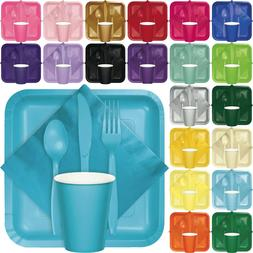 Touch of Colors Tableware Party Supplies Wedding Birthday Ev