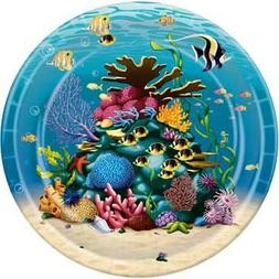 Under The Sea 9-inch Paper Plates 8 Per Pack - Beistle - 580