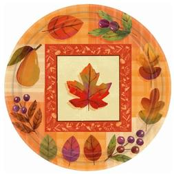 Watercolor Leaves - Dinner Plates Party Accessory
