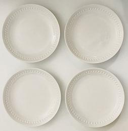 White Ceramic Made In Portugal | Set of 4 Lunch | Salad | De