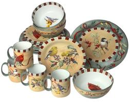 Lenox Winter Greetings Everyday Stoneware 16-Piece Service f
