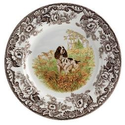 Spode Woodland Hunting Dogs English Springer Spaniel Dinner
